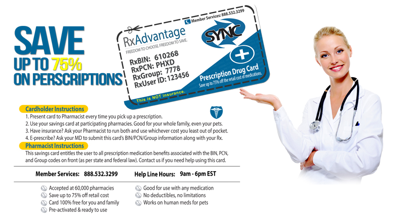 free rx cards pharmacy discount